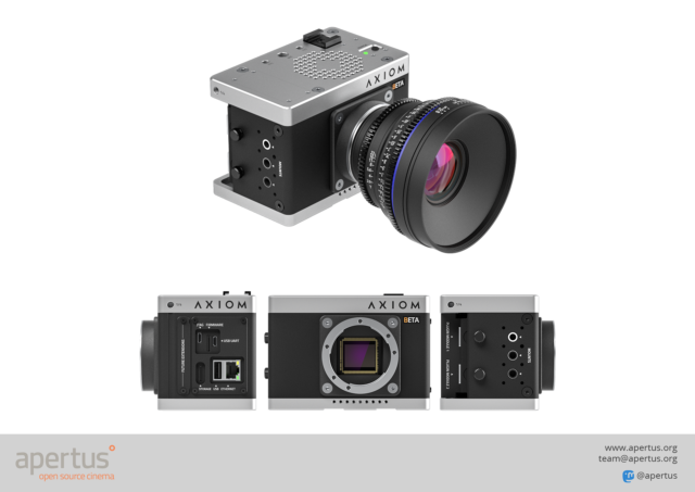 AXIOM Open-Source Cinema Camera Unveils New Design and