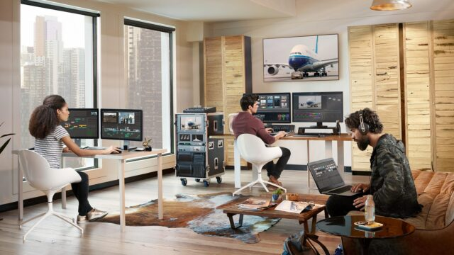 Blackmagic Design Presents Multi User Collaboration with DaVinci Resolve Studio