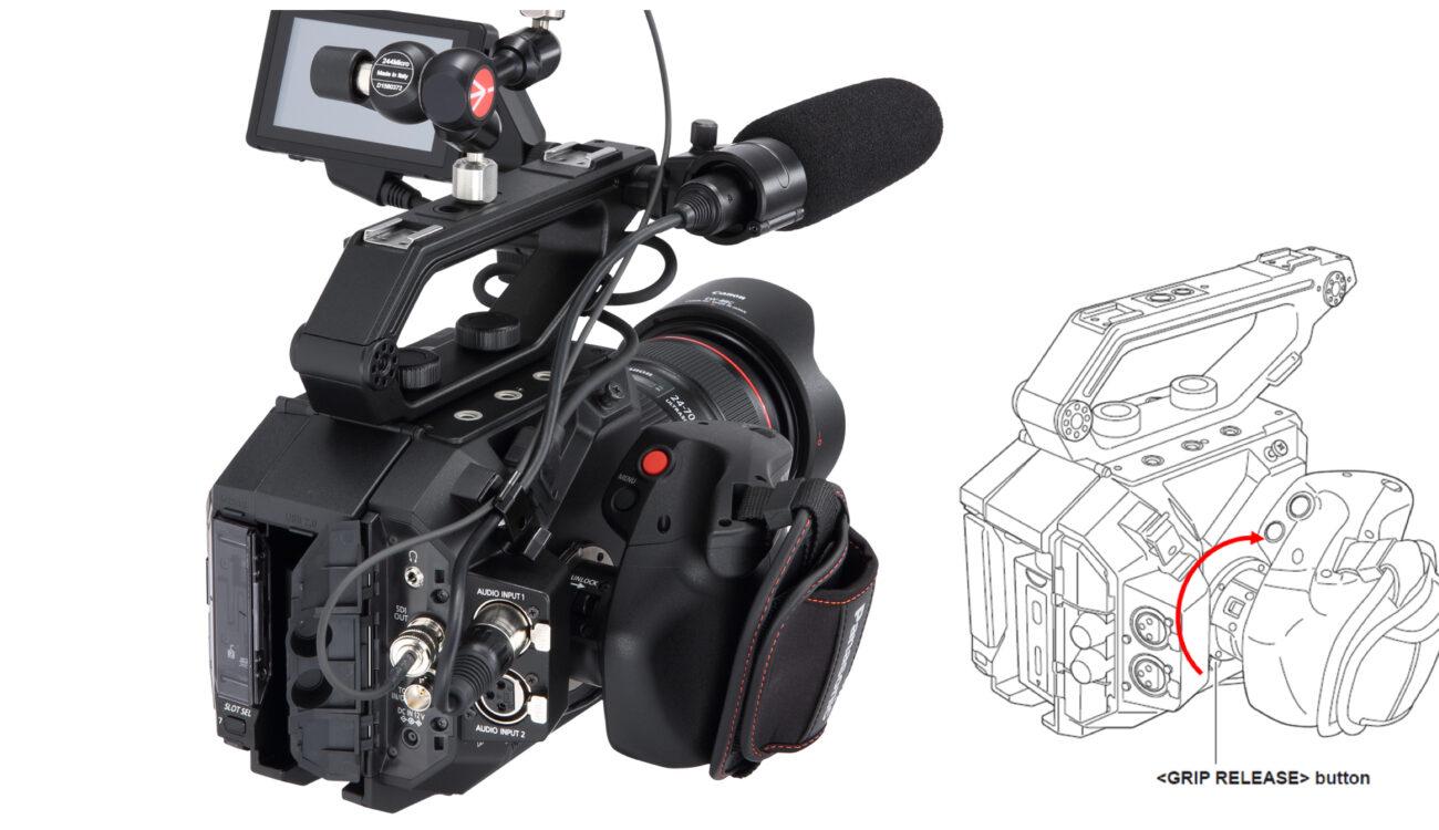 Panasonic is Replacing Defective EVA1 Grips with New Units