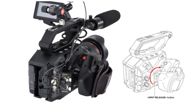 Panasonic is Replacing Defective EVA1 Grips with New Units