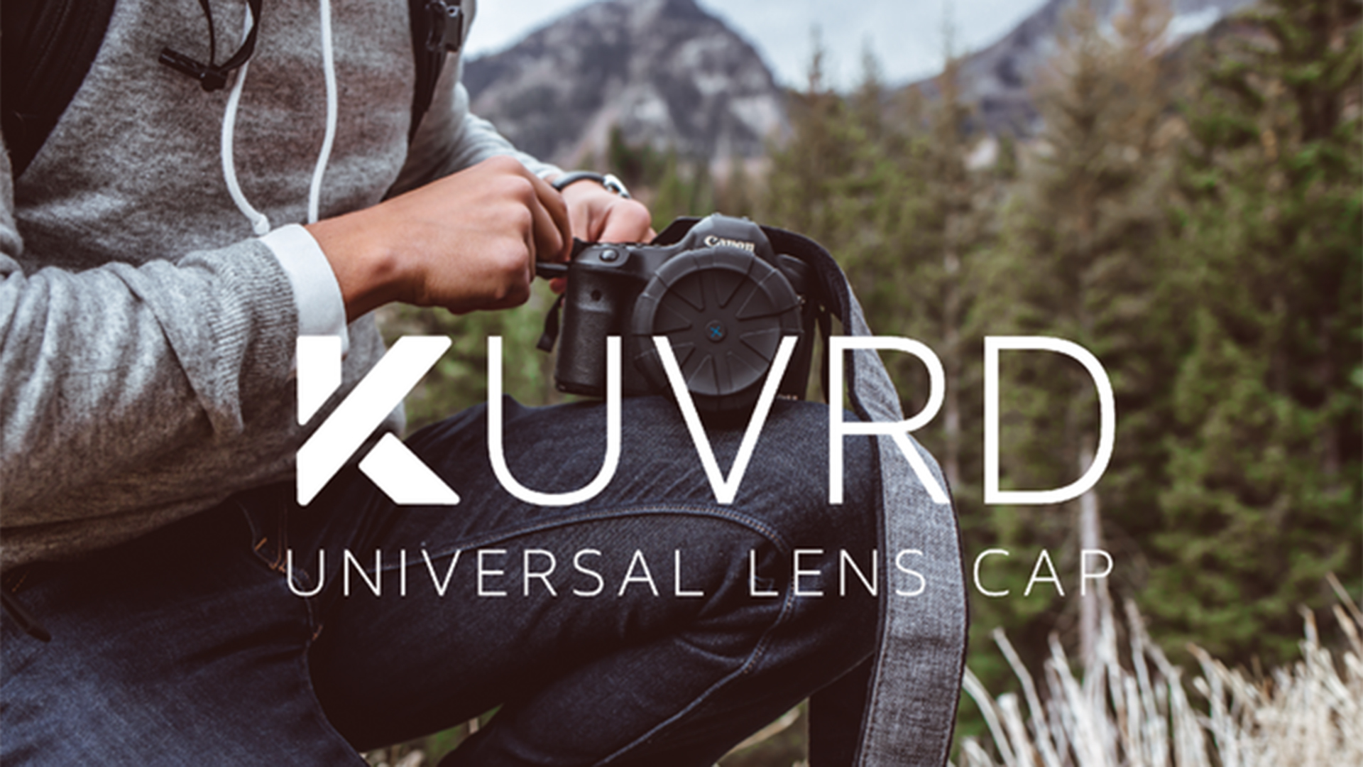KUVRD ULC - ありそうで無かった新しいスタイルのレンズキャップ