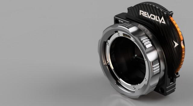 KipperTie Revolva – RED Lens Mount With Built In ND Filter Wheel