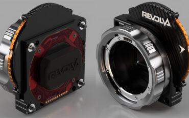 KipperTie Revolva - RED Lens Mount With Built In ND Filter Wheel