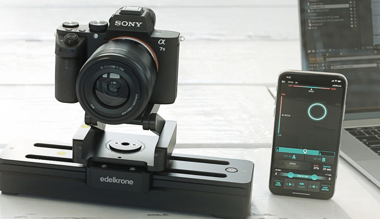 Edelkrone Reveals SliderONE Pro - A Portable Camera Motion Control System