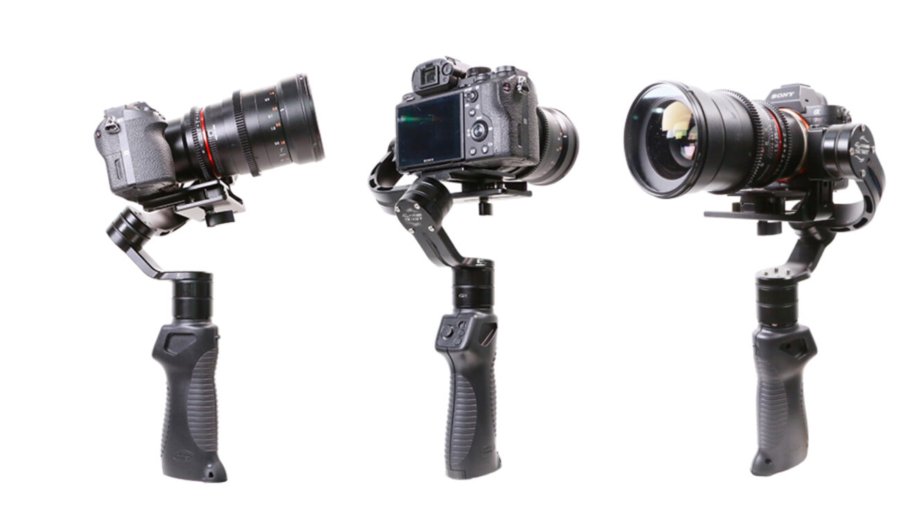 Filmpower Nebula 4100 Slant now Shipping – Improved Gimbal for Mirrorless Cameras