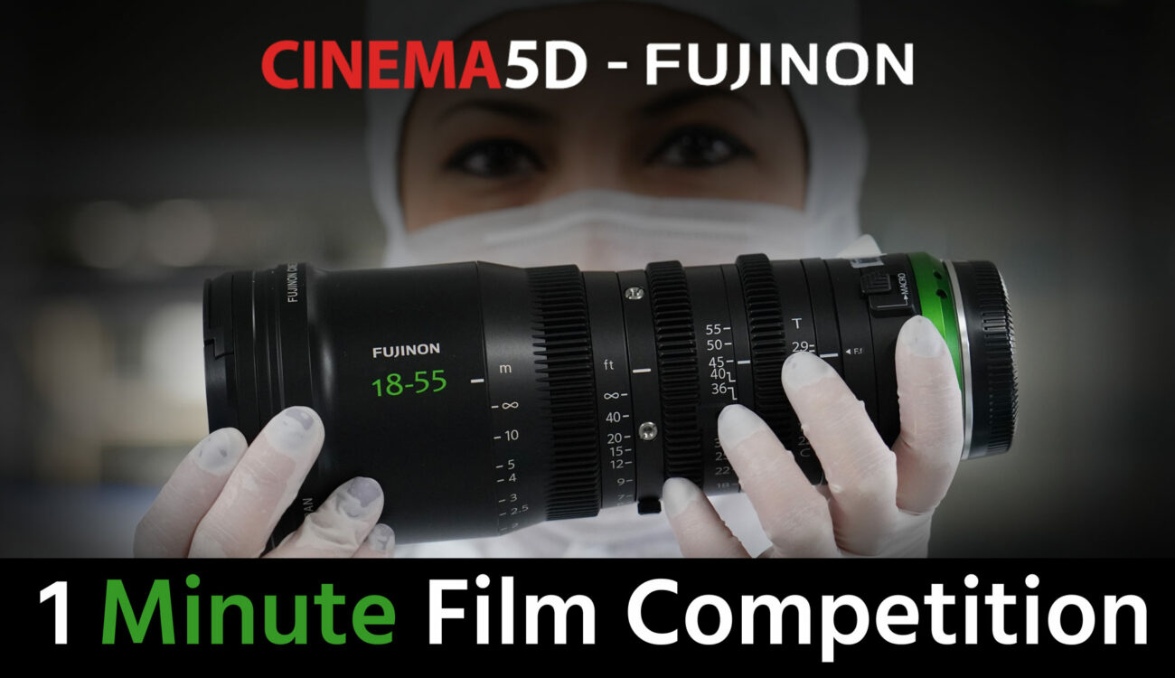 Win 2 FUJINON MK Lenses & More in our 1 Minute Film Competition!