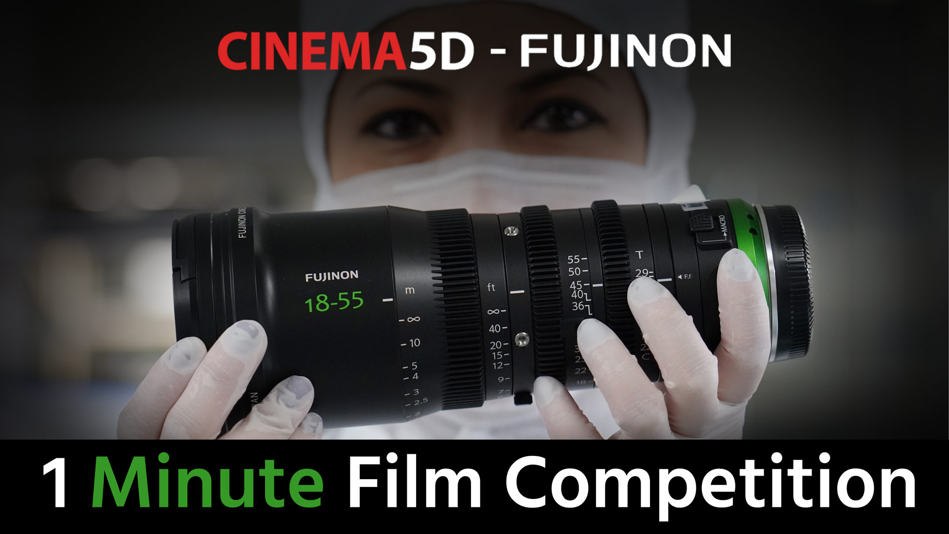 4Pm Cet To Pst win 2 fujinon mk lenses & more in our 1 minute film