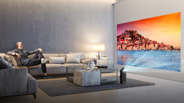 LG Reveals Its First-ever 4K HDR, Compact and Affordable Home Cinema Projector