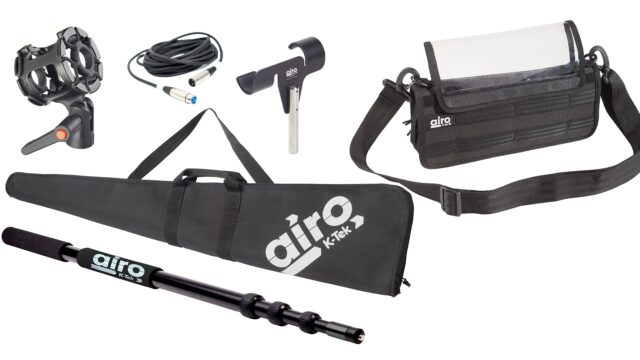 K-Tek Airo – New Affordable Line of Audio Gear