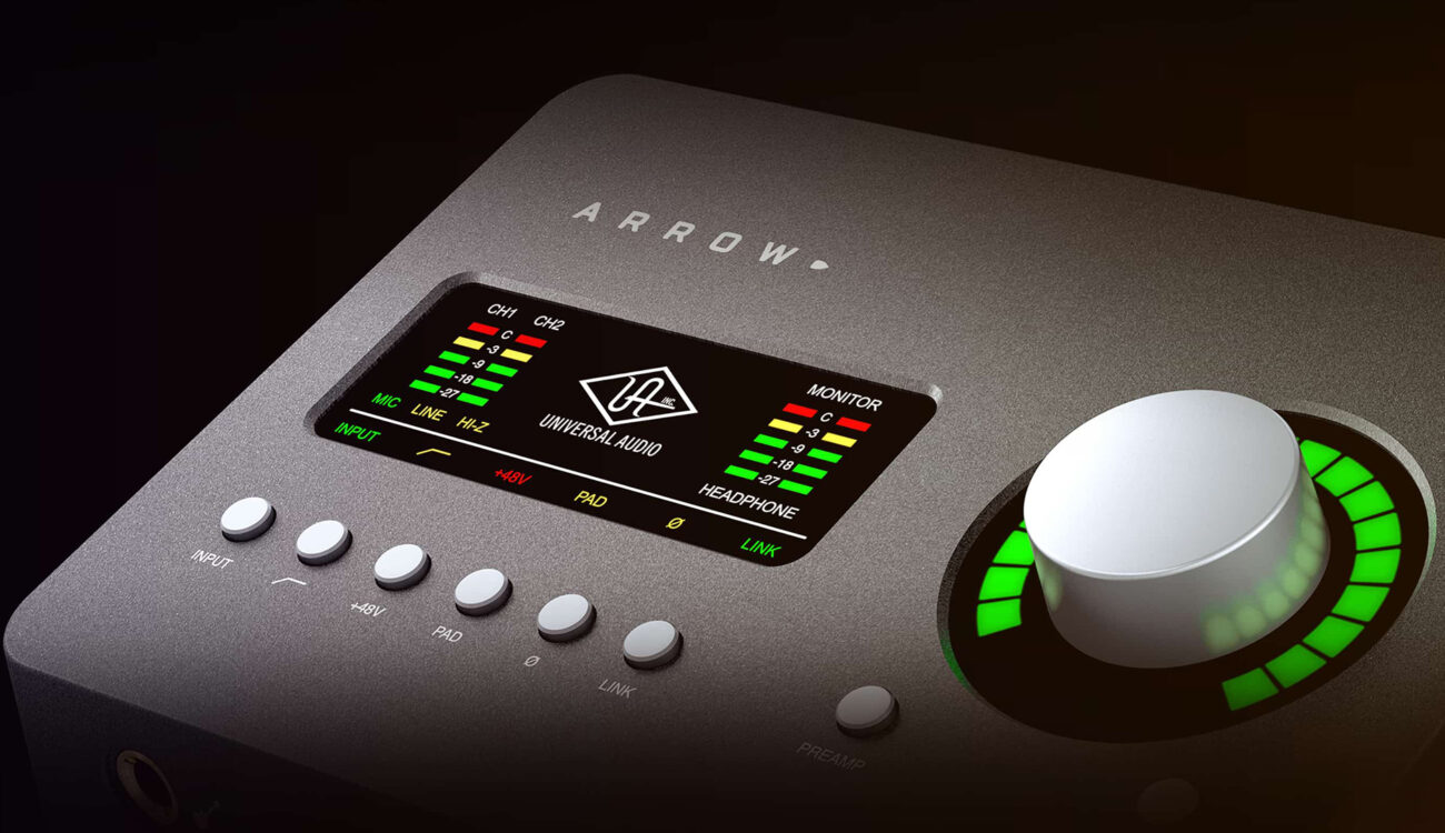 Univeral Audio Arrow - Quality Recordings On the Road