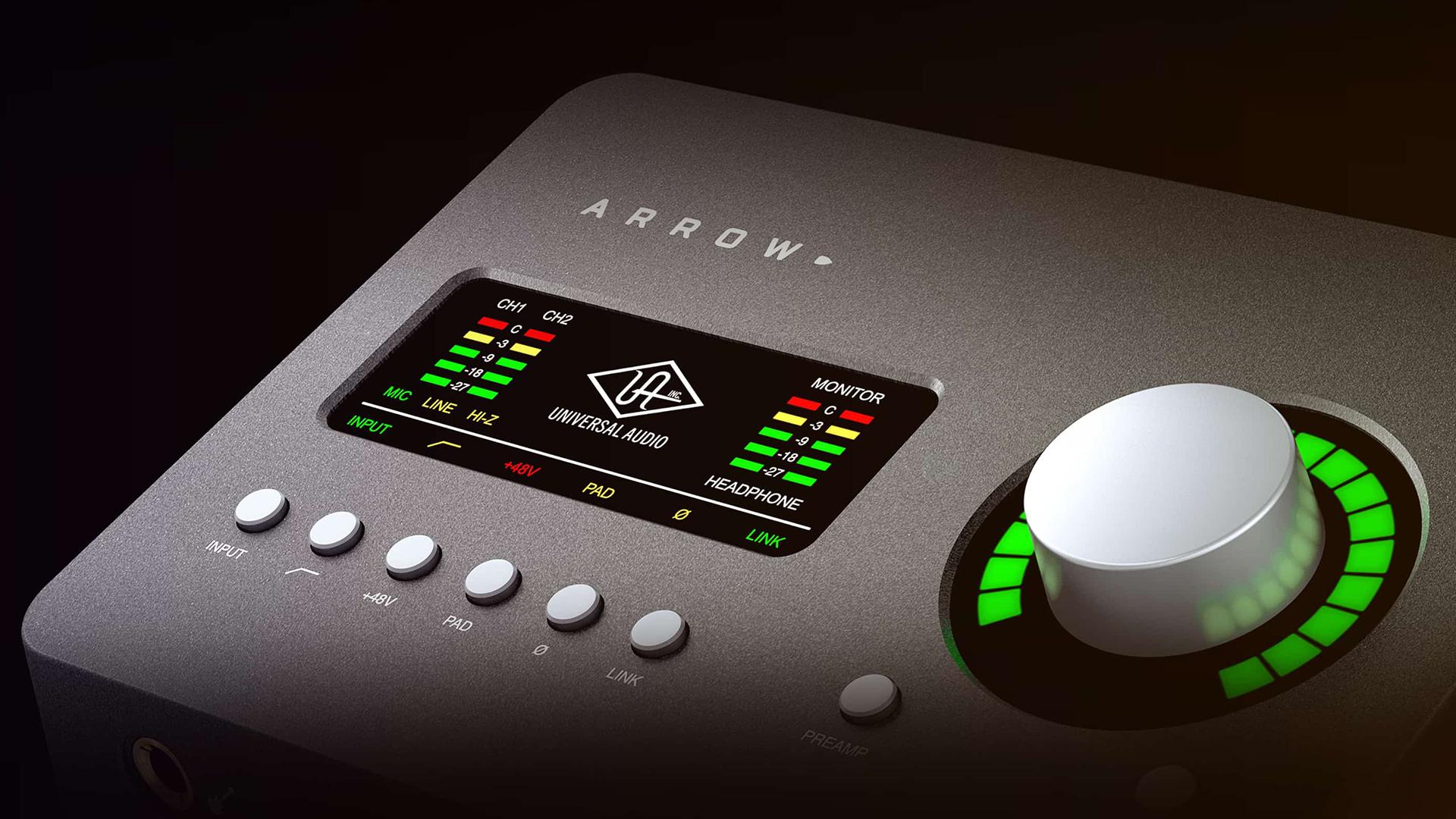 Univeral AudioがArrowを発売 -モバイル使用に最適なオーディオレコーディングツール