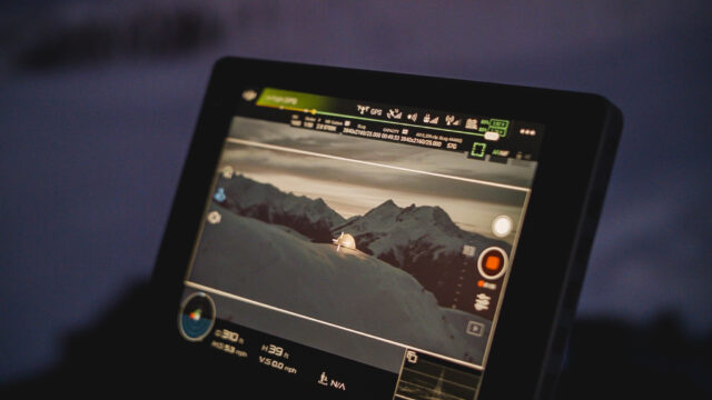 DJI Zenmuse X7 Review - Crystalsky Monitor