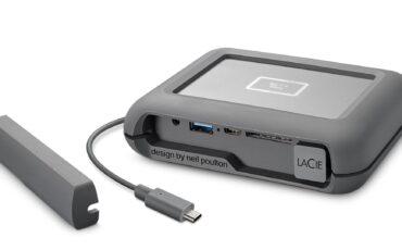 LaCie DJI Copilot - Backup on Location Without Laptop
