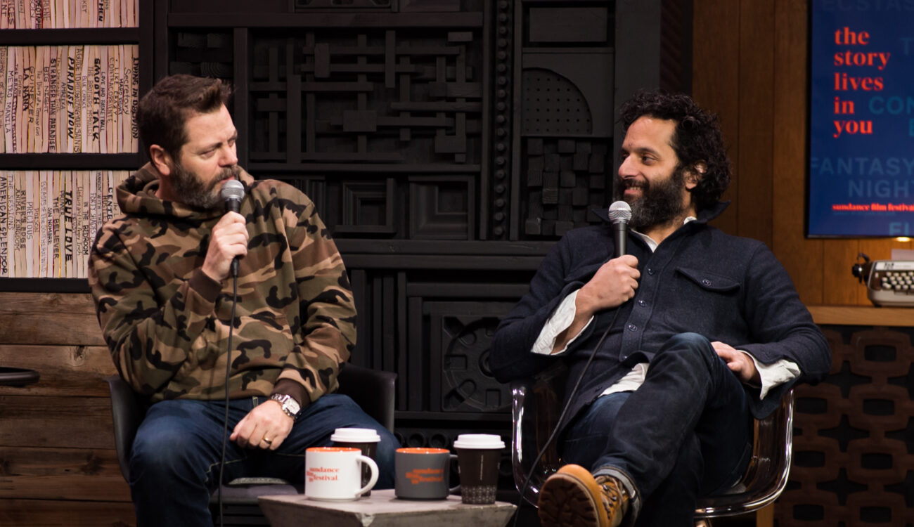 Sundance 2018:  Career Advice from Nick Offerman and Jason Mantzoukas