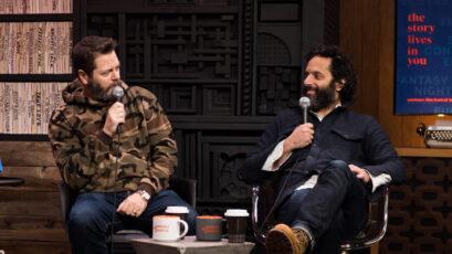 Sundance 2018:  Career Advice from Nick Offerman and Jason Mantzoukas