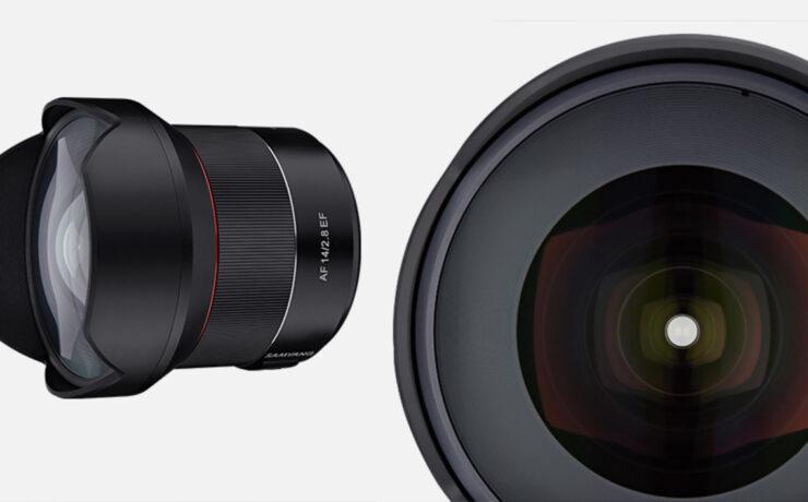 Samyang AF 14mm EF - Its First Autofocus Lens for Canon
