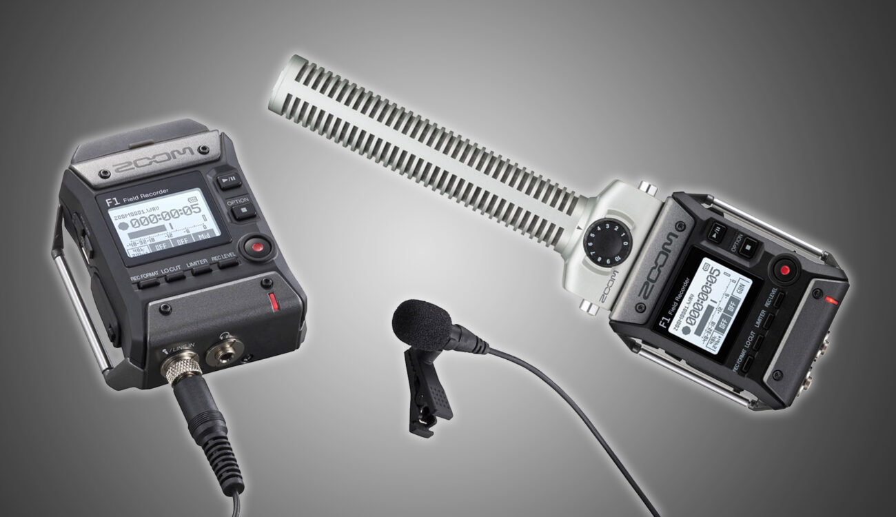 Zoom F1 - Tiny Recorder for Lavaliers and Shotgun Mics