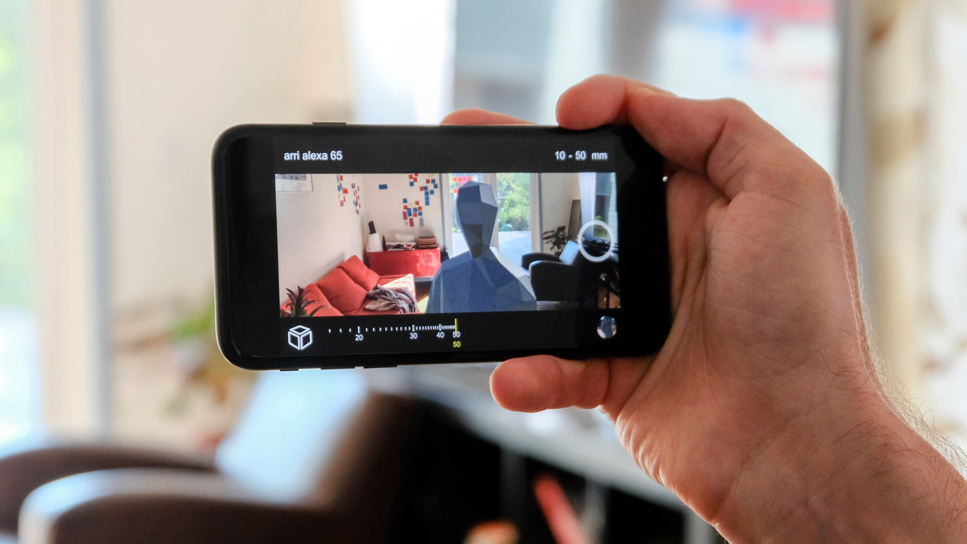 AfterNowのiPhoneアプリBlocker - 俳優の位置や動きをシミュレート