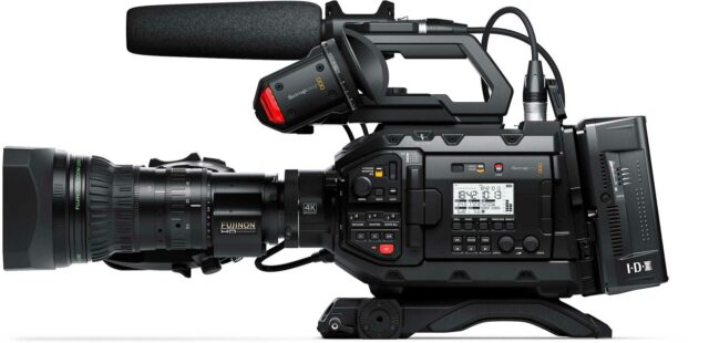 Blackmagic Design URSA Broadcast – A 4K Live Production Camera for $3,500