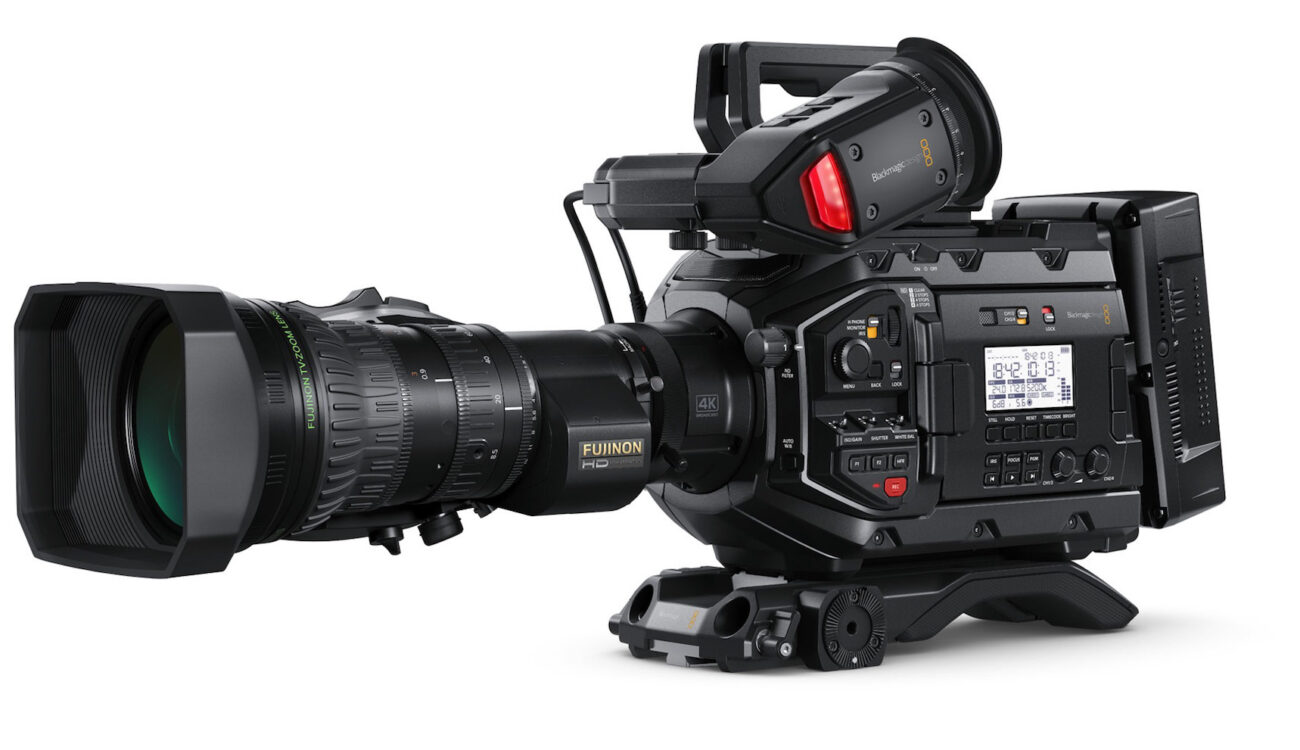 Blackmagic Design URSA Broadcast - A 4K Live Production Camera for $3,500