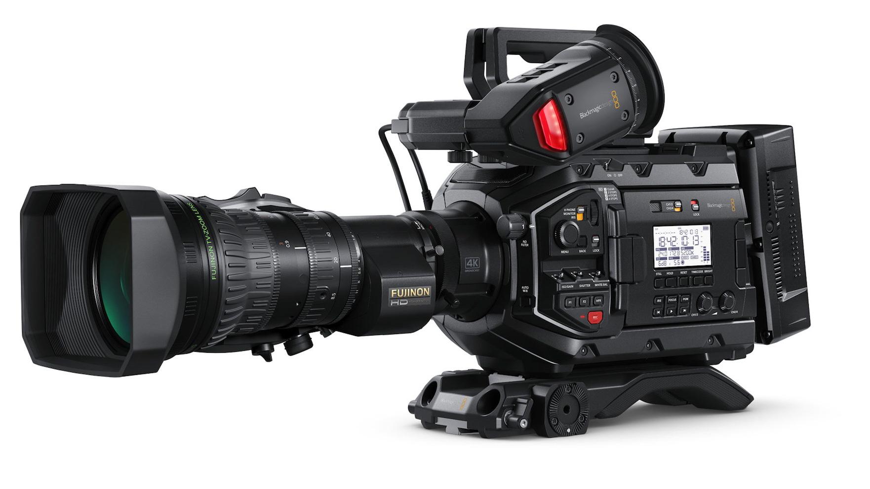 ブラックマジックデザインがURSA Broadcastを発表 - $3,500の4Kライブプロダクションカメラ