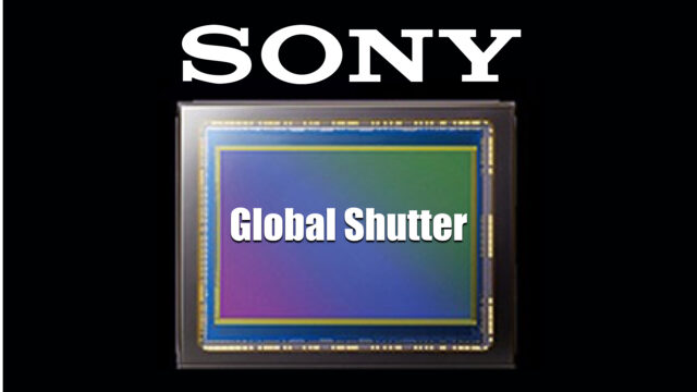 Sony Announces a New Back ­Illuminated Global Shutter CMOS Sensor