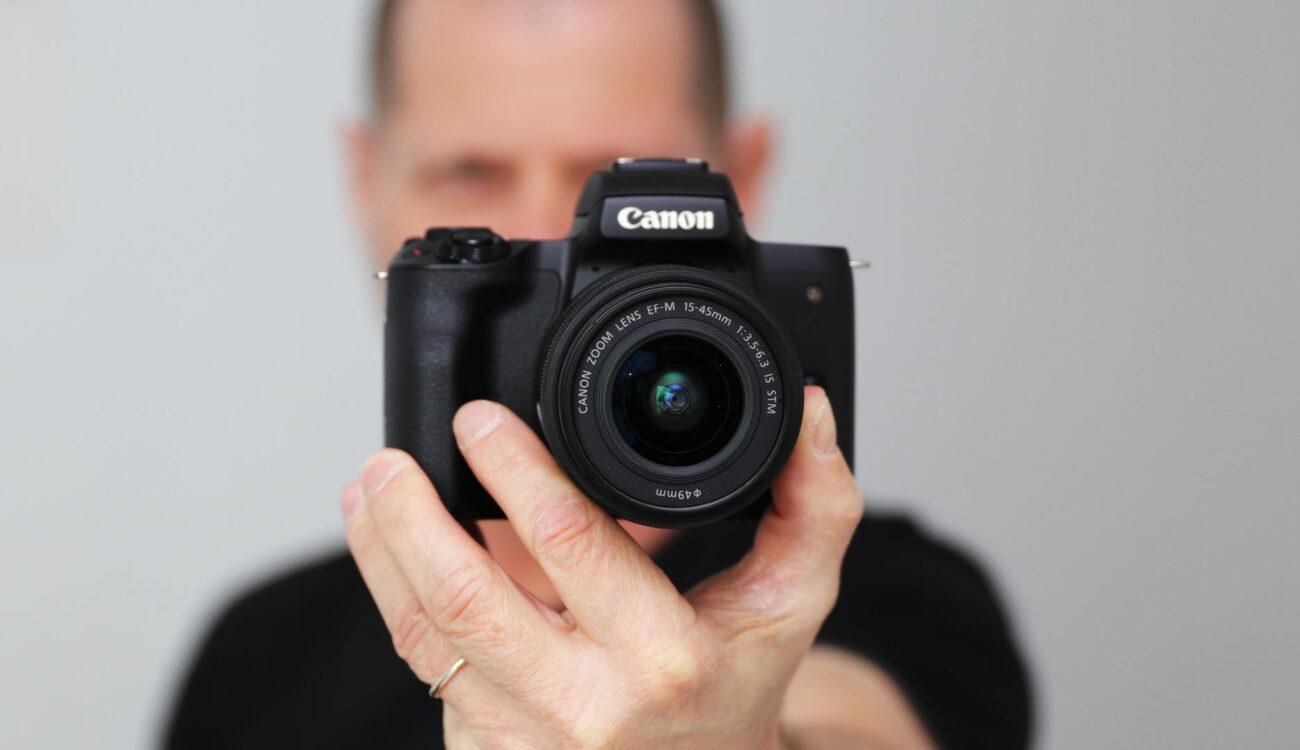 Canon M50 Announced - Canon Finally Goes 4K Mirrorless
