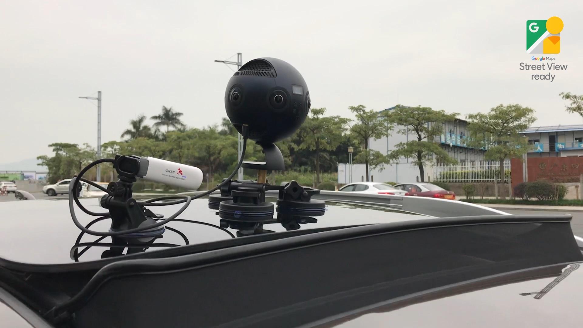 Insta360 Proカメラ - Googleが「street view ready」に採用