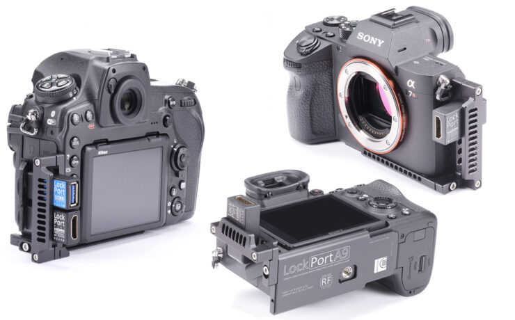 New LockPort HDMI Adapters for Sony a7R III, A9 and Nikon D850