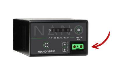Nano-VBR98 Battery with D-Tap for Panasonic EVA1