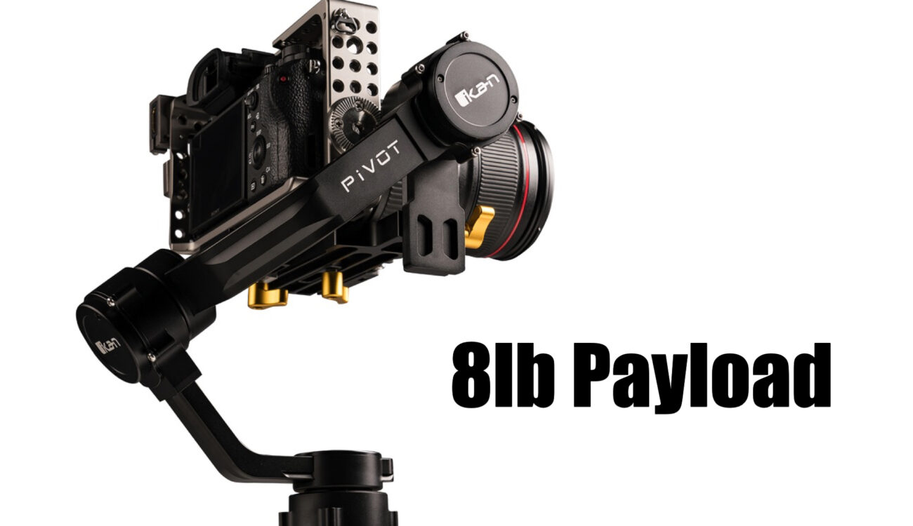 Ikan Introduces the PIVOT Handheld 3-Axis Gimbal with up to 8lb Payload