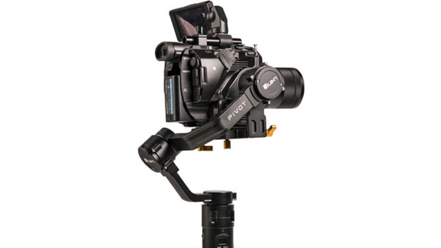 Ikan Introduces the PIVOT Handheld 3-Axis Gimbal with up to 8lb