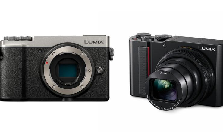 Panasonic LUMIX GX9 and TZ200 Cameras Revealed