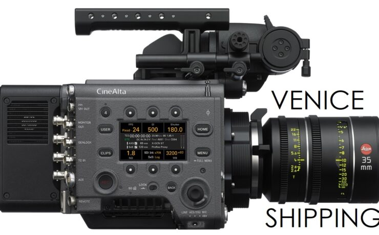 Sony VENICE Gets Dual Base ISO & Starts Shipping