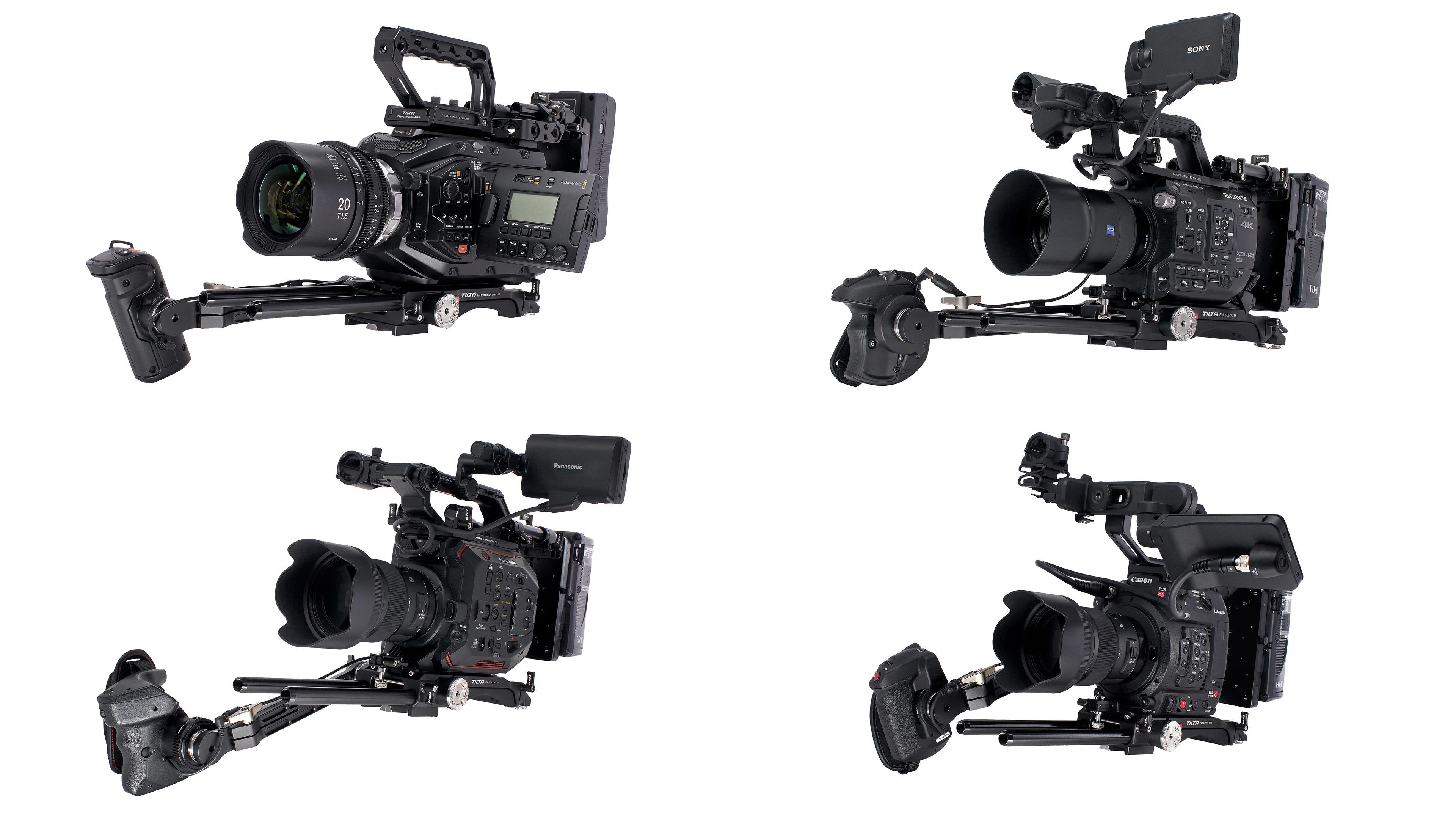 C200、EVA1、FS5、URSA Mini Pro用Tiltaケージ