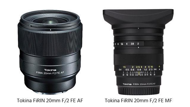 Tokina FiRIN 20mm F/2 FE – A New Autofocus Lens For Sony E-Mount Cameras