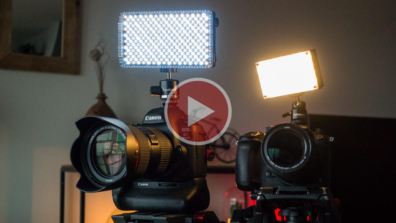 AputureがAmaran MXとF7 LED ライトを発表