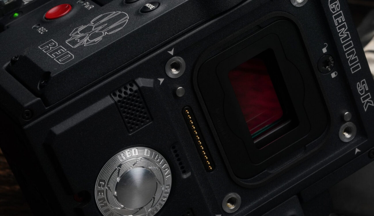 RED Announces GEMINI 5K S35 Sensor for RED EPIC-W