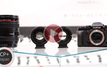 KIPON Autofocus Lens Adapters For Canon EF to FUJIFILM Mirrorless Cameras