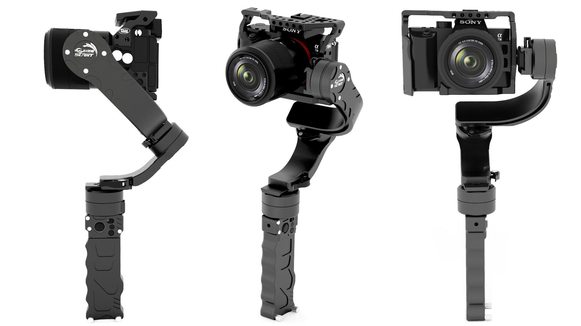 FilmpowerがNebula 5100 a7 Slantを発表 - α7シリーズ用ジンバル
