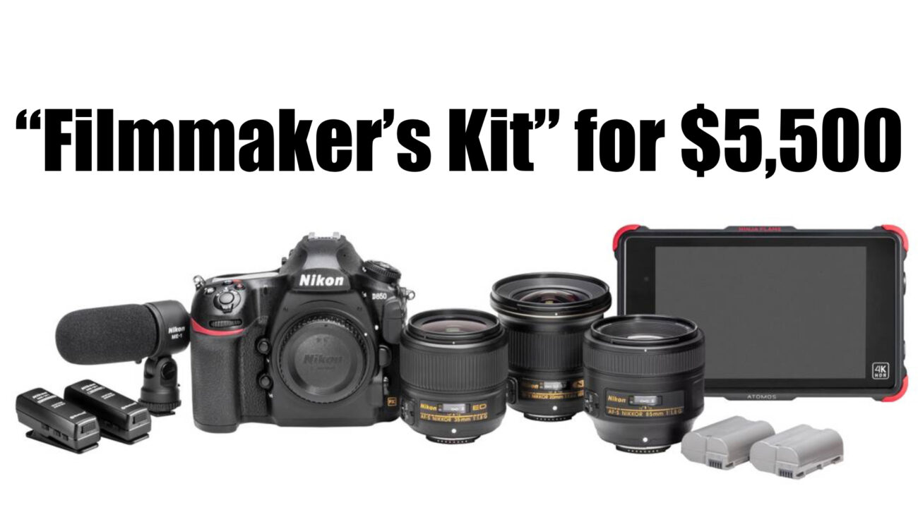 "Nikon Announces the ""D850 Filmmaker's Kit"" for $5,500"