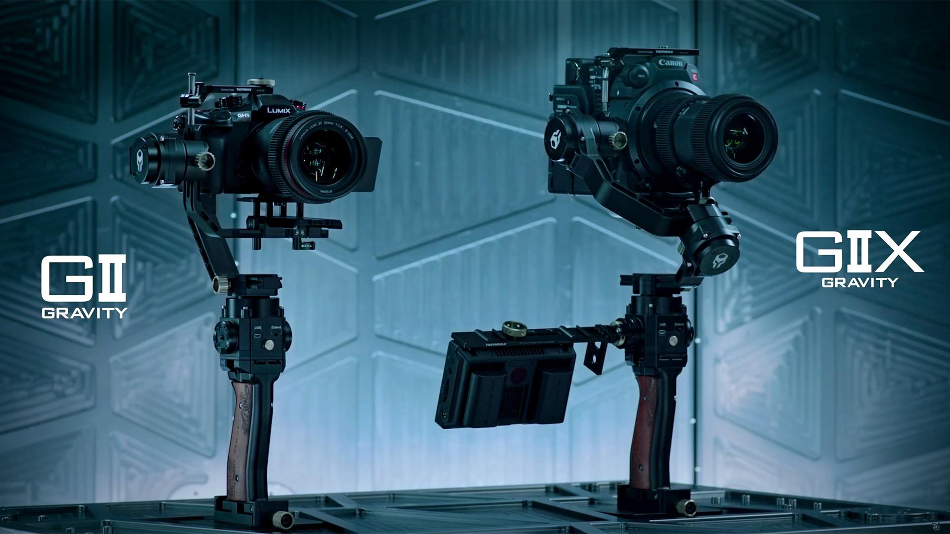 TiltaがGravity G2とG2Xを発表 - 新しくなったハンドヘルドジンバル