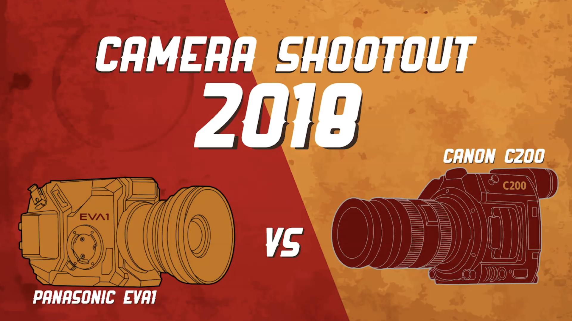 Zacuto Camera Shootout 2018 - キヤノンC200とパナソニックEVA1を徹底比較する