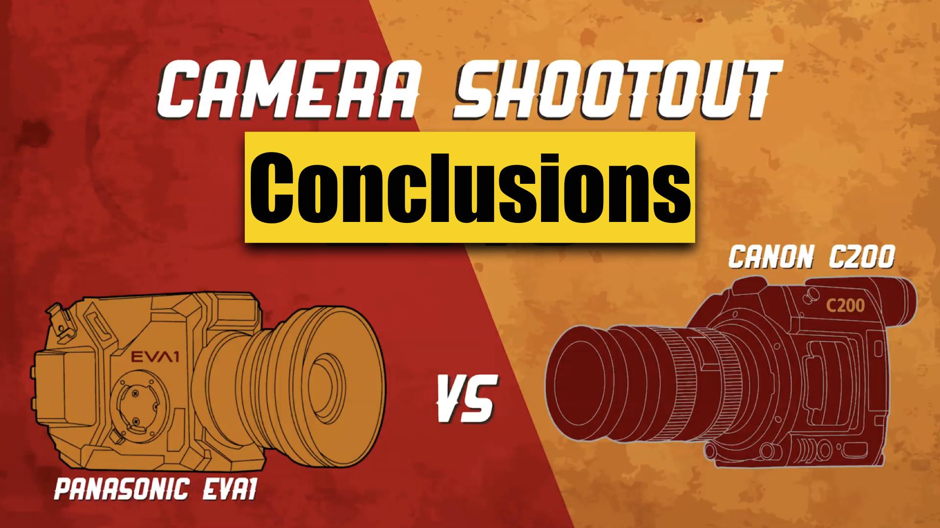 キヤノンC200 vsパナソニックEVA1  Zacuto Camera Shootout 2018の結果報告