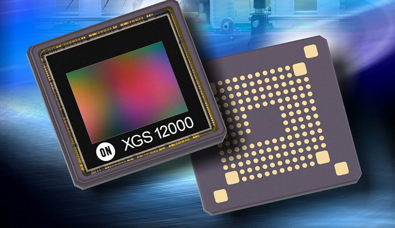 ON Semiconductor Announces a New 1-inch Global Shutter 4K Sensor