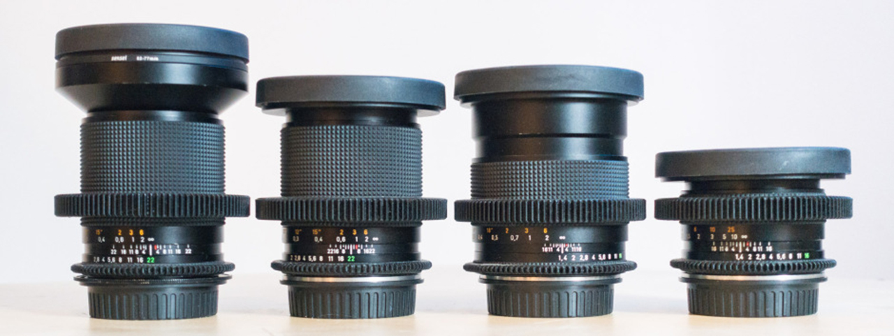 How to Cine-Mod old Contax Zeiss Lenses from eBay on a