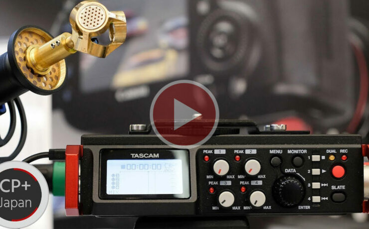 TASCAM DR-701d Field Recorder Now Supports Sennheiser's AMBEO VR Mic
