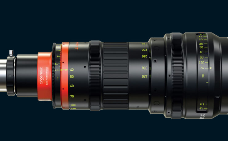 Angenieux Unveils the Optimo Anamorphic 42-420 mm Zoom Lens