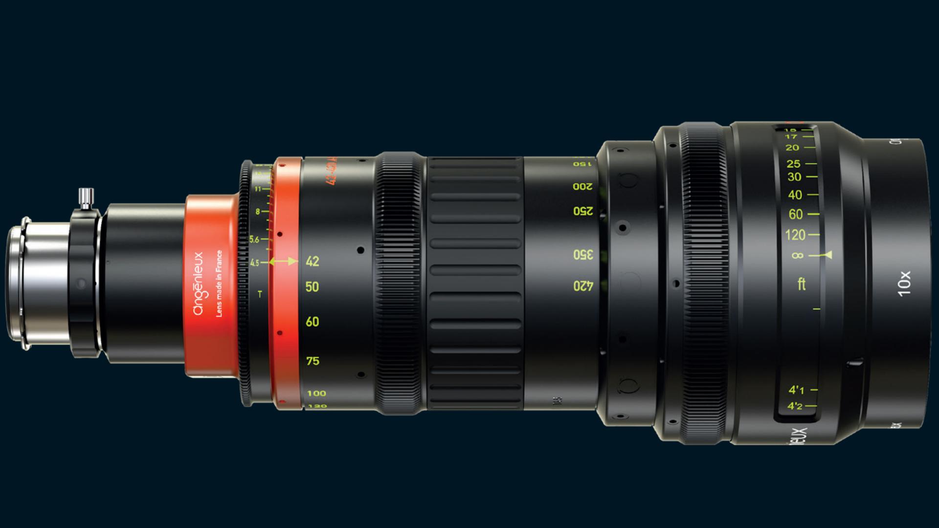 アンジェニューがOptimo Anamorphic 42-420 mmズームを発表