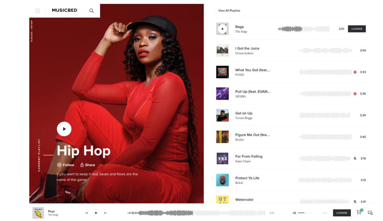 Musicbed Launches Redesigned Website and Adds new Features